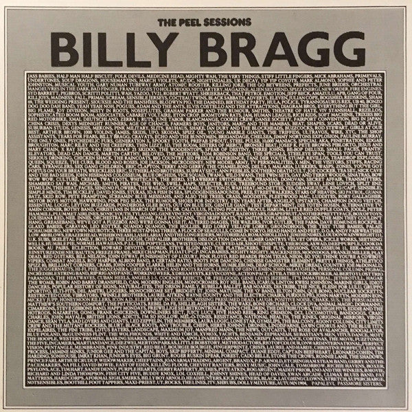 Billy Bragg ‎– The Peel Sessions - 1987- Folk, World, & Country (vinyl)