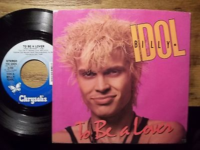 "Billy Idol ‎– To Be A Lover -1986 -  Pop Rock, Synth-pop - Vinyl, 12"", 45 RPM  (vinyl)"