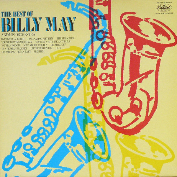 Billy May And His Orchestra ‎– The Best Of Billy May - Jazz Big Band (UK Import Vinyl)