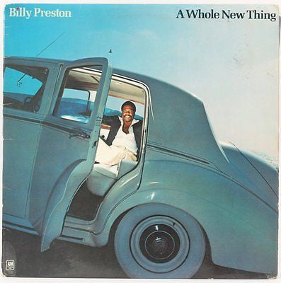 Billy Preston ‎– A Whole New Thing-1977- Funk,Soul (vinyl)