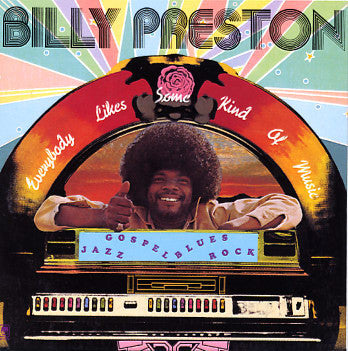 Billy Preston ‎– Everybody Likes Some Kind Of Music -1973- Soul, Funk (Vinyl) mint