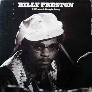Billy Preston ‎– I Wrote A Simple Song - 1971-Rhythm & Blues, Soul, Funk (clearance Vinyl) NO COVER