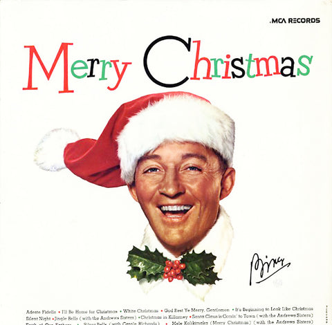 Bing Crosby ‎– Merry Christmas - Christmas Classic Pop Vocal (vinyl)