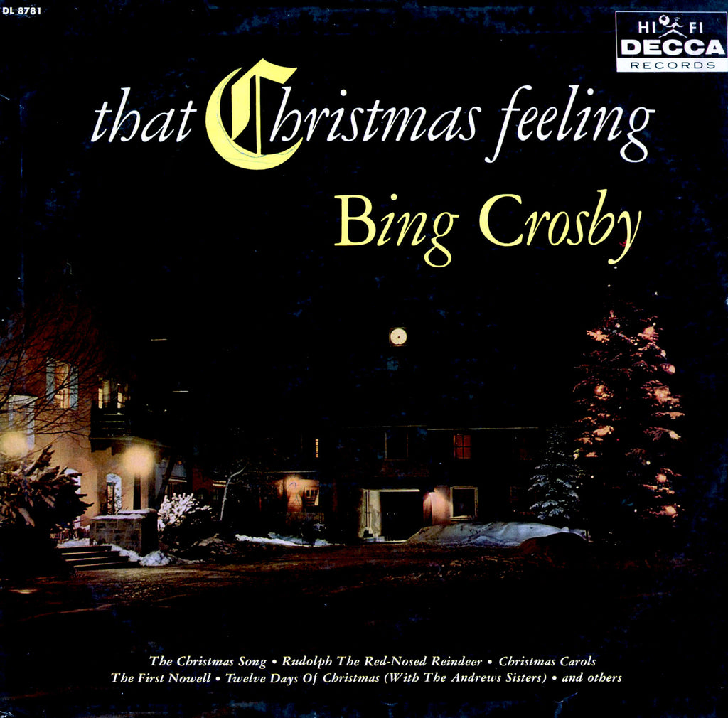 Bing Crosby ‎– That Christmas Feeling -1960 - Pop Vocal , Christmas (vinyl)
