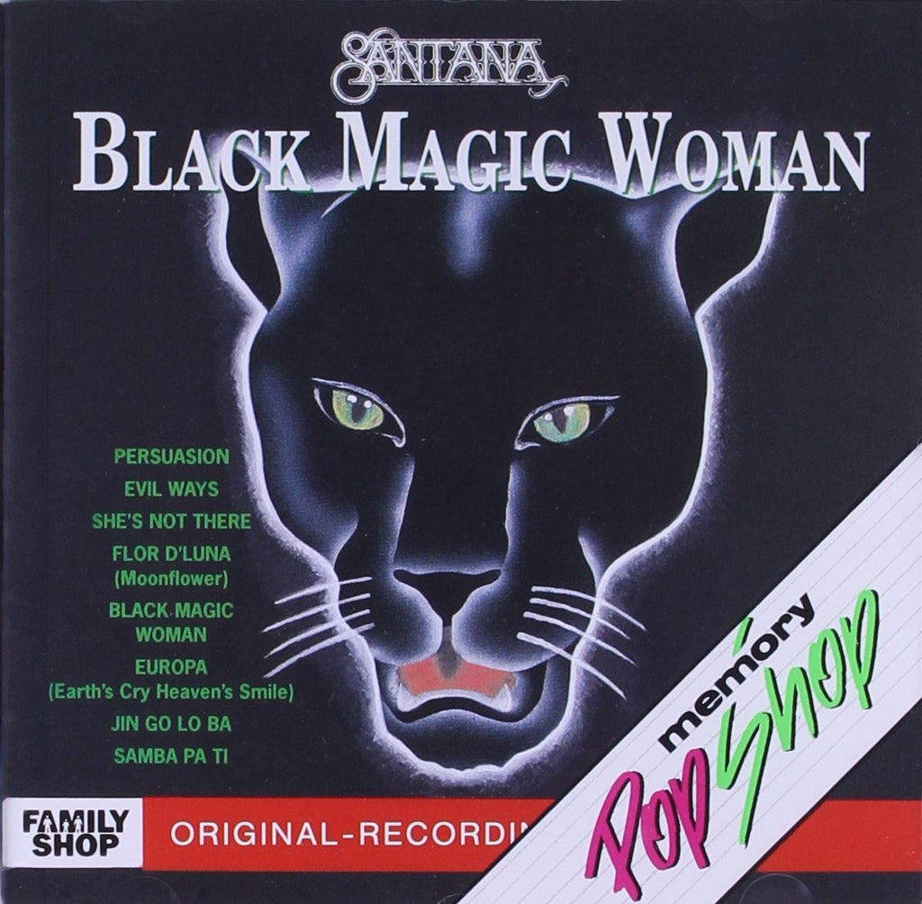 Black Magic Woman Best of Santana (Music CD)