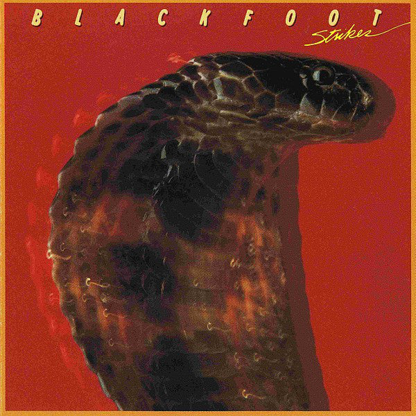 Blackfoot ‎– Strikes -1979 Southern Rock (vinyl)