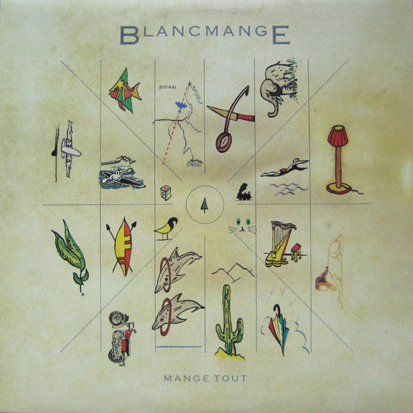 Blancmange ‎– Mange Tout -1984 -  Synth-pop (vinyl)