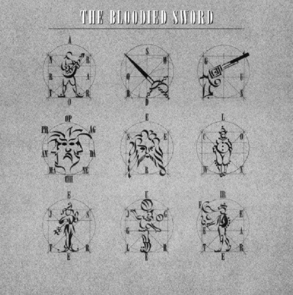 Bloodied Sword, The ‎– The Bloodied Sword -1983- New Wave, Poetry, Synth-pop, Experimental, Spoken Word (vinyl) UK