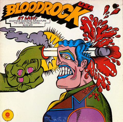Bloodrock ‎– Bloodrock U.S.A. - 1971- Hard Rock, Blues Rock ( vinyl )