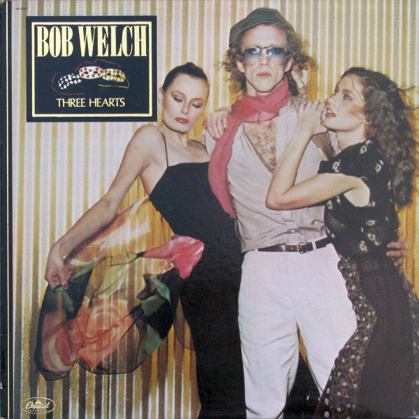 Bob Welch ‎– Three Hearts - 1979 Rock (Clearance vinyl)