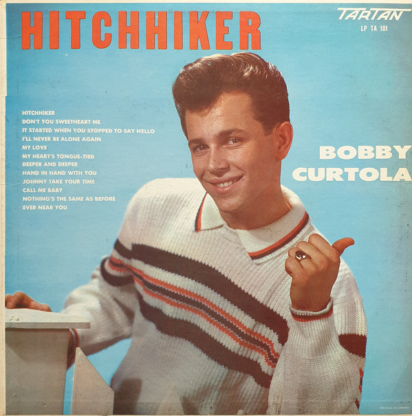 Bobby Curtola ‎– Hitchhiker - 1961 -Classic Rock (Vinyl )