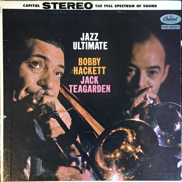 Bobby Hackett And Jack Teagarden ‎– Jazz Ultimate -1958 Cool Jazz (vinyl)