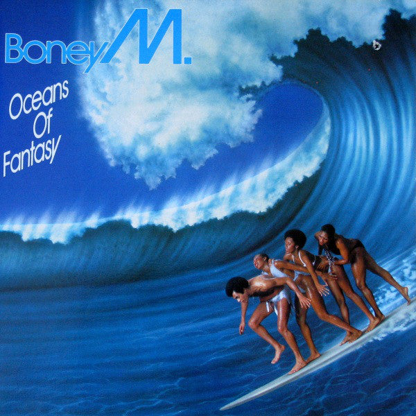 Boney M. ‎– Oceans Of Fantasy -1979-Electronic, Funk / Soul (clearance vinyl)