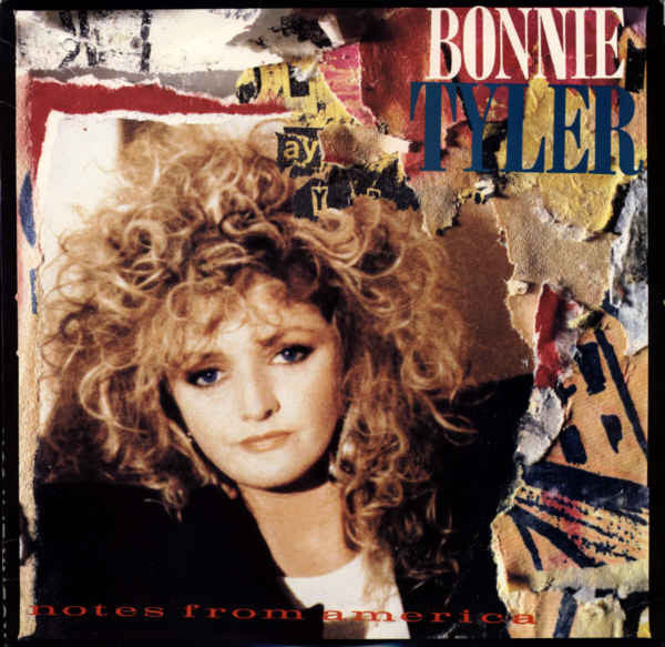 Bonnie Tyler ‎– Notes From America -1988 Rock (vinyl)