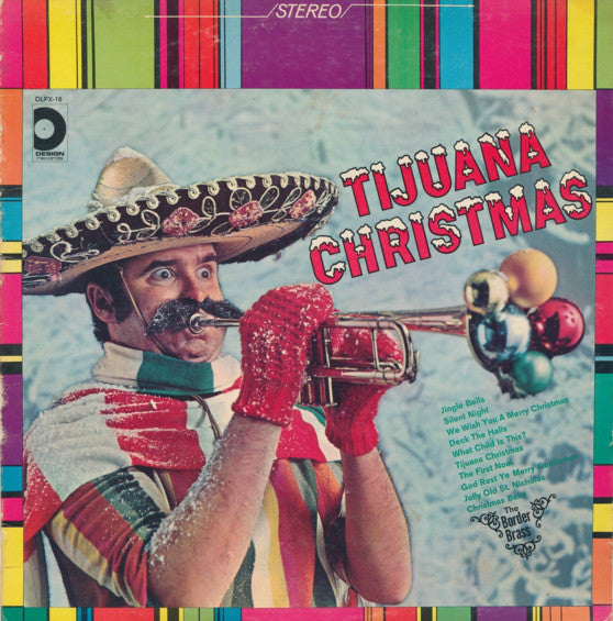 Border Brass ‎– Tijuana Christmas -1968-  Jazz, Pop, Christmas (vinyl)