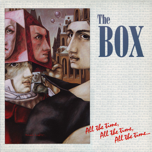 Box ,The  ‎– All The Time, All The Time, All The Time... 1985- Soft Rock, Synth-pop (vinyl)