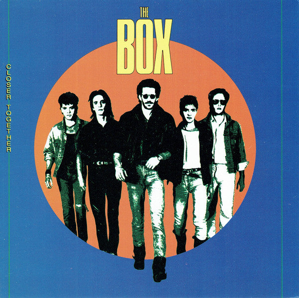 Box ,The  ‎– Closer Together -1987 -Pop Rock (vinyl)