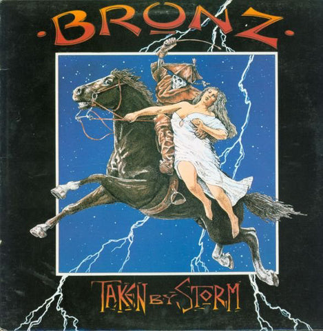 Bronz ‎– Taken By Storm -1984- Hard Rock (vinyl)