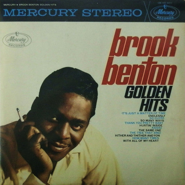 Brook Benton ‎– Golden Hits-1961-  Rhythm & Blues, Jazz, Funk, Soul (Rare Netherlands vinyl)