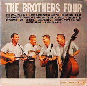 Brothers Four ,The ‎– The Brothers Four 1960 Folk (vinyl)