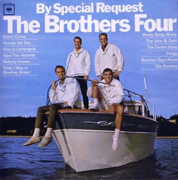 Brothers Four ‎– By Special Request - 1965-Folk (vinyl)