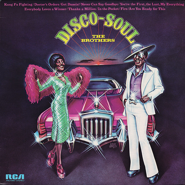 Brothers ,The ‎– Disco-Soul - 1975  Funk / Soul (vinyl)
