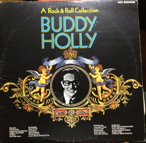 Buddy Holly ‎– A Rock & Roll Collection 1978 - 2 Lps Rock & Roll (vinyl)