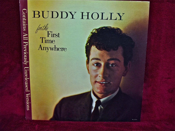 Buddy Holly ‎– For The First Time Anywhere -1983- Rock & Roll (Vinyl)
