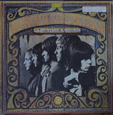 Buffalo Springfield ‎– Last Time Around -1968- Folk Rock ( rare Vinyl)