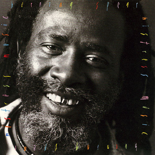 Burning Spear ‎– Mistress Music -1988 - Roots Reggae (vinyl)