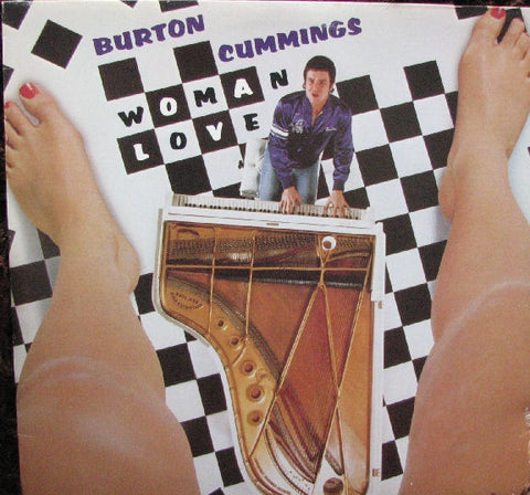 Burton Cummings ‎– Woman Love -1980 - Classic Rock (vinyl)