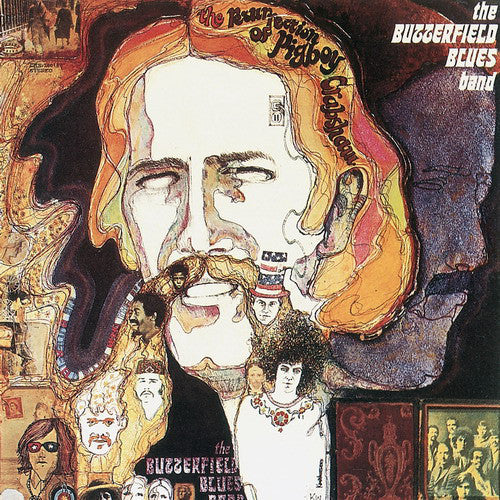 Butterfield Blues Band , The ‎– The Resurrection Of Pigboy Crabshaw -1978 -Blues Rock, Electric Blues, Harmonica Blues, Soul (vinyl)