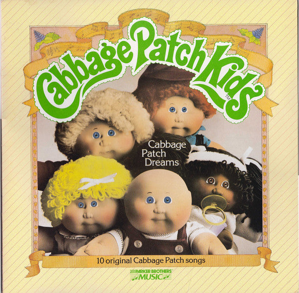 Cabbage Patch Kids ‎– Cabbage Patch Dreams - 1984-Pop, Children's, Stage & Screen (vinyl) mint