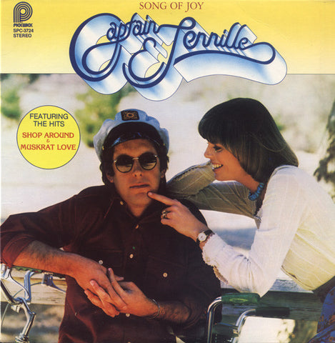 Captain & Tennille ‎– Song Of Joy -1976 Pop ( Clearance vinyl ) overstocked