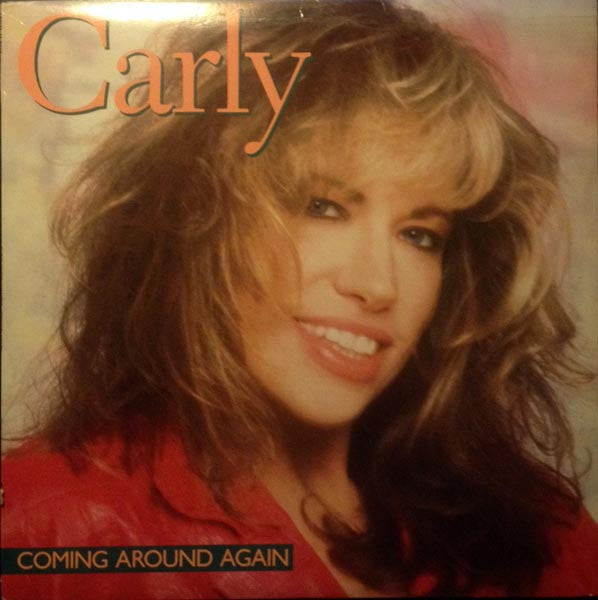 Carly Simon ‎– Coming Around Again- 1987 Ballad Pop (vinyl) mint!