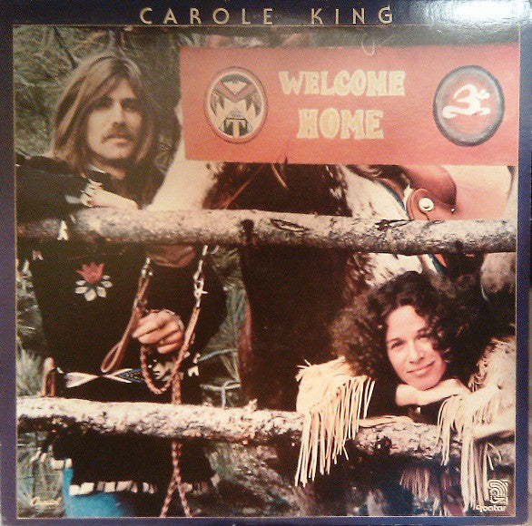 Carole King ‎– Welcome Home -1978  Soft Rock, Folk (vinyl)