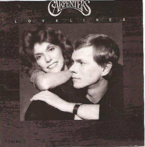 Carpenters ‎– Lovelines - 1989 Pop Vocal (clearance vinyl)