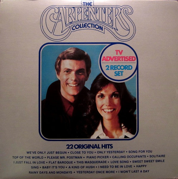 Carpenters ‎– The Carpenters Collection ( 2 lps) 22 Original Hits (Vinyl)
