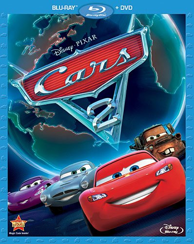 Cars 2 [Blu-ray + DVD] (Bilingual) Mint Used