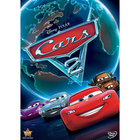 Cars 2 - Walt Disney  (Mint Used DVD)
