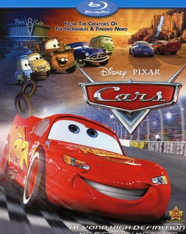 Cars [Blu-ray] Mint Used
