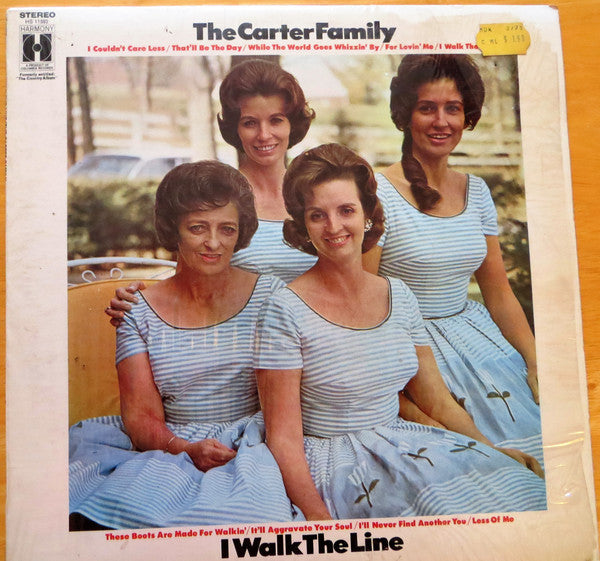 Carter Family ‎– I Walk The Line -1967 -  Folk , Country (vinyl)