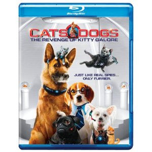 Cats & Dogs: Revenge of Kitty Galore Blu Ray ( Mint Used )