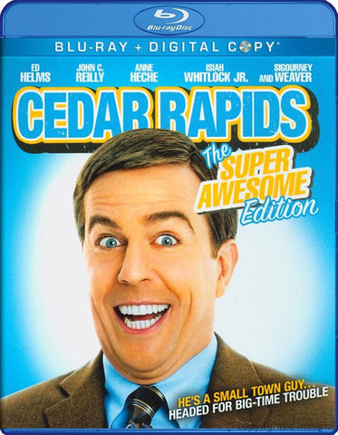 Cedar Rapids (Super Awesome Edition) (Bilingual) [Blu-ray + Digital Copy]