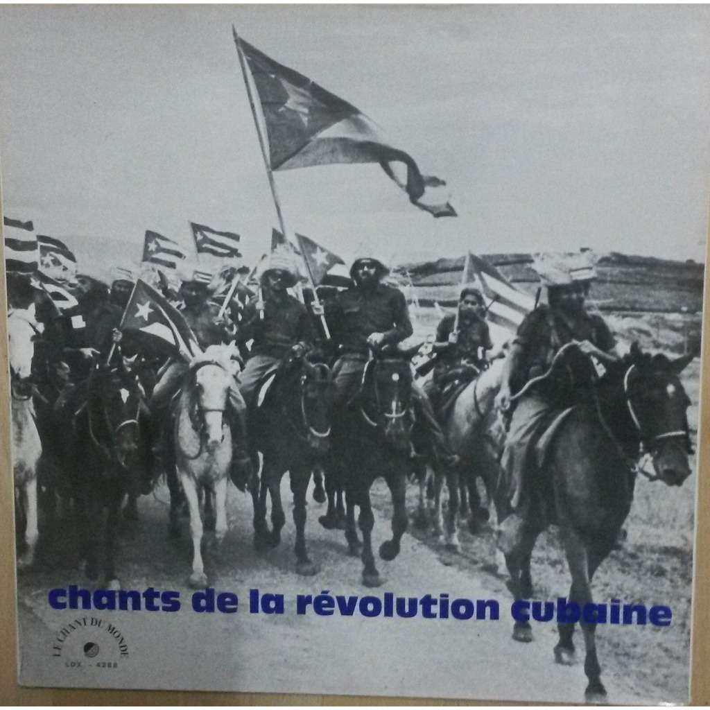 Chants De La Revolution Cubaine - Latin Son (vinyl) rare