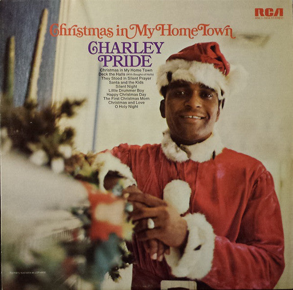Charley Pride ‎– Christmas In My Home Town -1976- Folk Country (vinyl)