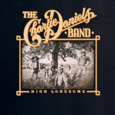 Charlie Daniels Band ,The ‎– High Lonesome - 1976 - Country Rock (vinyl)
