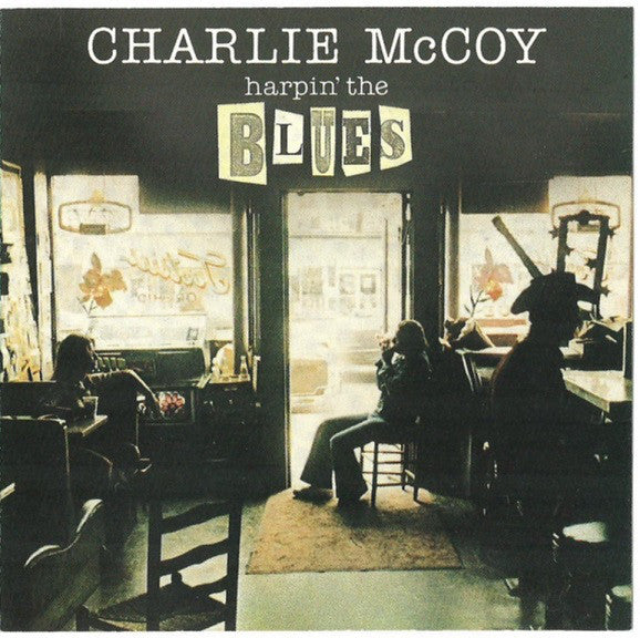 Charlie McCoy ‎– Harpin' The Blues -1975-  Blues, Folk, Country Blues (vinyl)