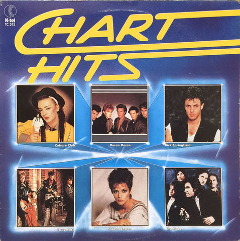 Chart Hits -1984- Soft Rock, Pop Rock, Synth-pop, Rockabilly - Spandau Ballet, Dran Duran,The Parachute Club ,Styx + (vinyl)