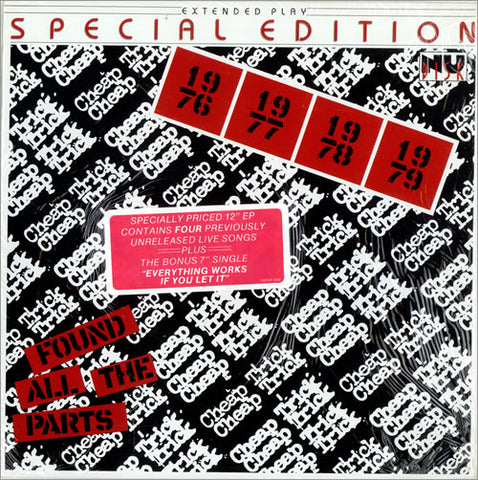 "Cheap Trick - Found All the Parts 1980 Rock 12"" EP (Vinyl)"